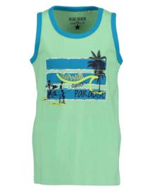 Blue Seven Top 'Beach Court'  Groen
