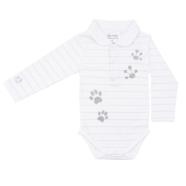 Frogs and Dogs Polo-romper