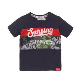 Dirkje Shirt  'Hawaii' Navy