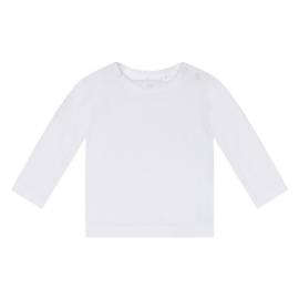 Dirkje Basic Shirt Lange Mouw Wit