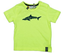 Dirkje Shirt 'Shark' Neon Green