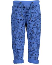Blue Seven Sweatbroekje 'Happy Dogs' Blauw