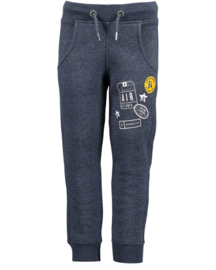Blue Seven Joggingbroek 'Let's Travel' Jeansblauw