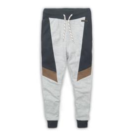 DJ Dutchjeans Joggingbroek Camel/Dark/Grey/Grey Melee