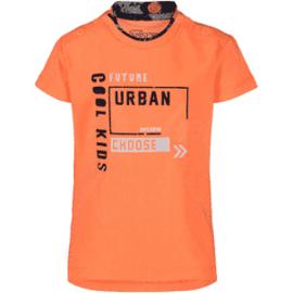 4President Shirt 'Seb' Neon Orange