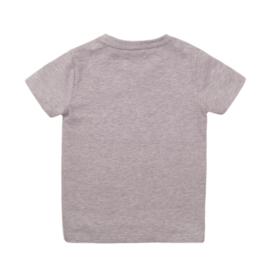 DJ Dutchjeans Shirt 'Faster-Stronger' Grey Melee