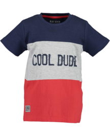 Blue Seven Shirt 'Xtreme Cars' Rood