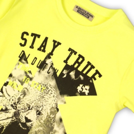DJ Dutchjeans Shirt Neon Yellow