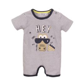 Dirkje Babysuit Short Navy/Stripe