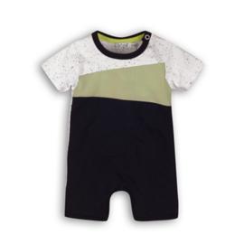 Dirkje Babysuit Short Mint/White/Navy