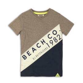 DJ Dutchjeans Shirt  Faded Army Green/Mint/Navy