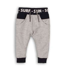 Dirkje Joggingbroek Light Grey Melee/Navy