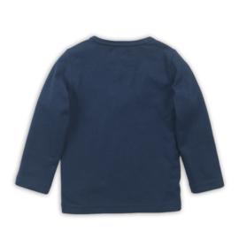 Dirkje Shirt Grijs/Navy