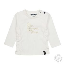 Dirkje Bio Cotton Shirt 'Dreams' Off White