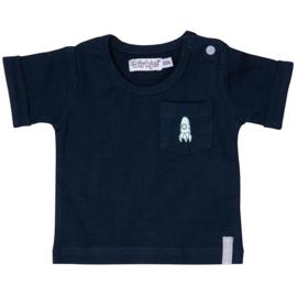 Dirkje Shirt 'Universe' Donkerblauw