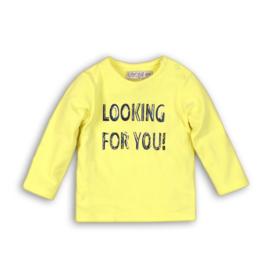 Dirkje Longsleeve 'Looking for you' Neon Yellow