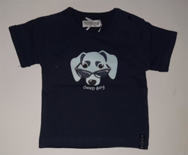 Dirkje Shirt 'Dog' Donkerblauw