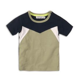 Dirkje Shirt Navy/Light Army Green/White