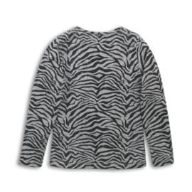 DJ Dutchjeans Shirt Grey Melee+Black