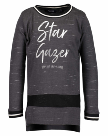 Blue Seven Longsleeve 'Star Gazer' Antraciet