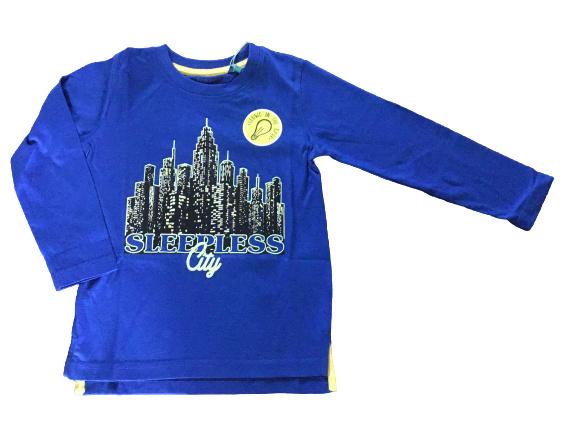 Blue Seven Longsleeve 'Big City Sports' Royal Blauw