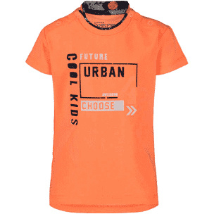 4President Shirt 'Seb' Neon Orange