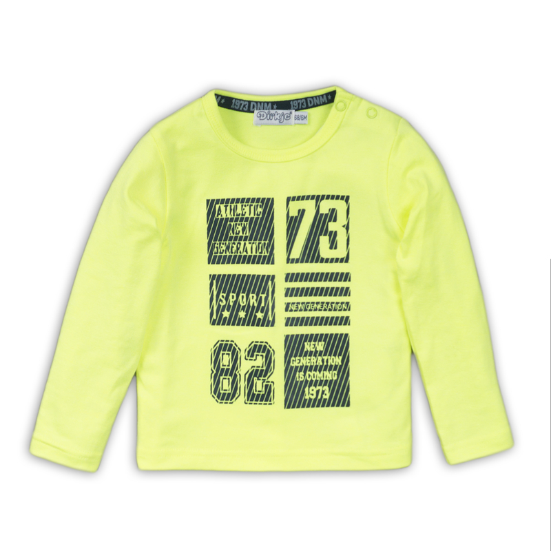 Dirkje Shirt Neon Yellow