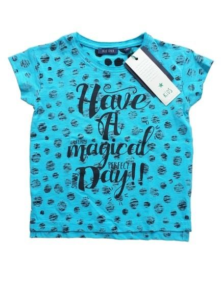 Blue Seven Shirt 'Magical' blauw