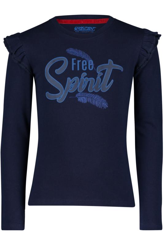 4President Shirt 'Halle' Blauw