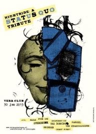 Status Quo tribute poster