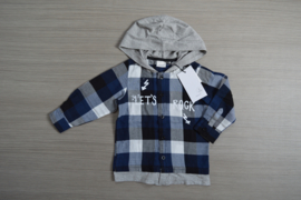 Name-it blouse NmmOlasse blauw maat 80