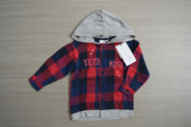 Name-it blouse NmmOlasse rood maat 98