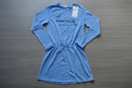Name-it jurk NkfKahutta blauw maat 128