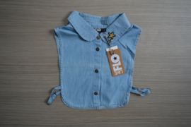 Like Flo kraagje blue denim maat T3 (140/164)
