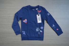 Cars sweater Lavanda maat 8