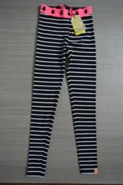 B.Nosy legging zwart/wit streep maat 158/164