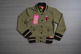 Funky XS vest Bomber maat 98/104