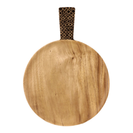 Earthware snackschaal bamboe Bibi L