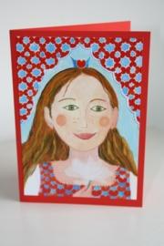 Kinderkaart nr:7 De Waterlelieprinses