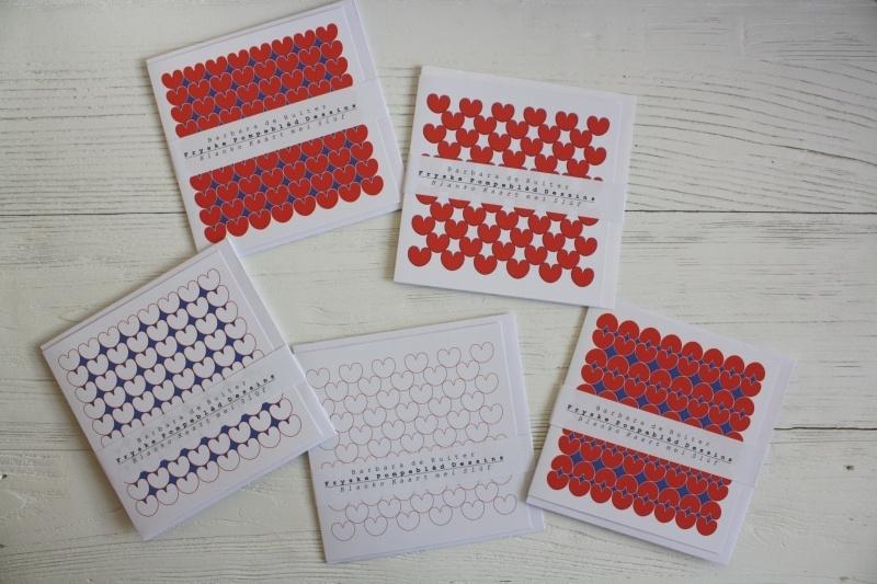 Kaartenset 5 kaarten met Frysk dessin nr:4192