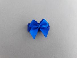 Baby klittenband haarspeldje 'felblauw'