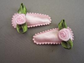 Baby haarknipje roze