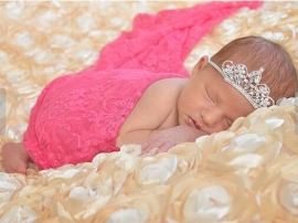 Prachtig haarbandje (tiara) met kroontje