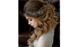 Bruidsjuweeltje 'blad'