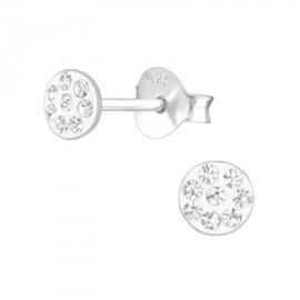 Zilveren kinder oorbelletjes