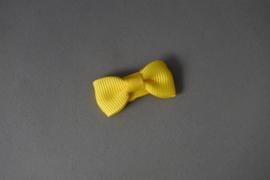 Baby haarknipje 'geel'