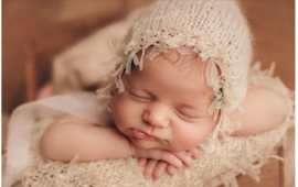 Newborn set wrap + mutsje