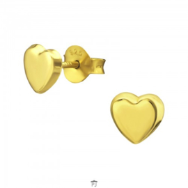 kinder oorbelletjes 'goud'