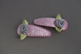 Kinder haarknipje 'roze'