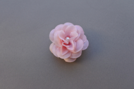 Roze bloem/parel